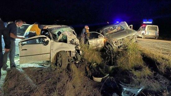 Karabük'te feci kaza: 2 ölü 6 da yaralı var
