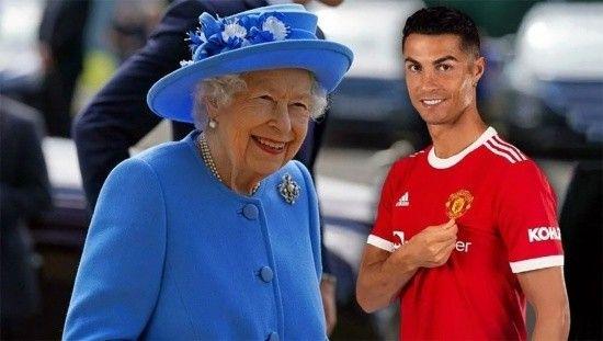Kraliçe Elizabeth istedi, Cristiano Ronaldo tarihe geçti