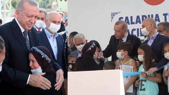 Küçük Fatma Zehra'nın Erdoğan sevgisi