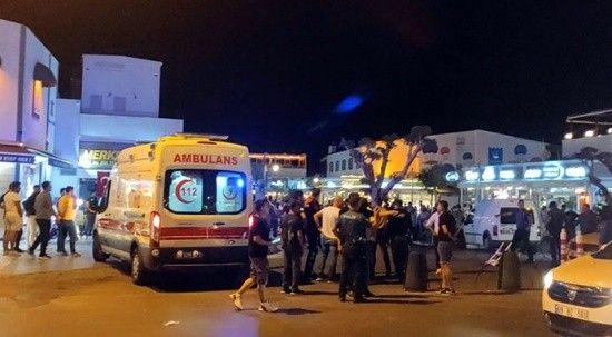 Kuşadası'nda silahlı çatışma: 5 kişi yaralandı