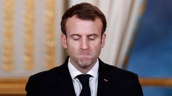 Macron'un 'ifade özgürlüğü' kendisi eleştirilene kadarmış!