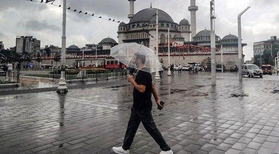 Meteoroloji saat verdi: İstanbul'da sağanak bekleniyor