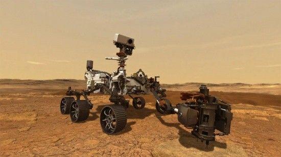 NASA, Mars'tan ilk kaya örneğini aldı
