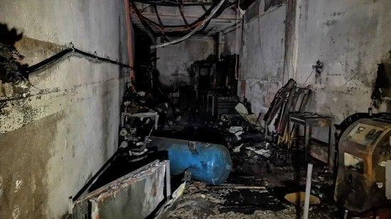 Oto elektrikçide LPG tüpü patladı, çıkan yangında 1 çocuk öldü