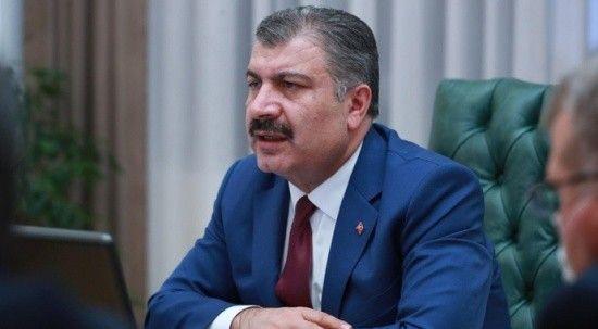 """Sağlık Bakanı Koca: """"Her ikimizden birimiz çift doz aşılıyız"""""""