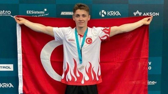Sercan Demir, Slovenya'da altın madalya kazandı