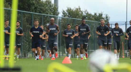 Trabzonspor Galatasaray maçı öncesi hazırlıklara başladı! Hedef 3 puan