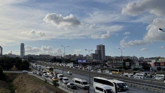 Trafik yoğunluğu yüzde 58'lere ulaştı