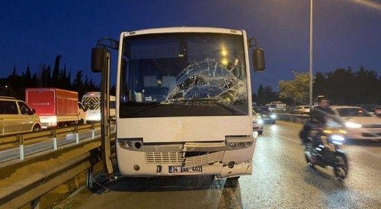 Tuzla'da zincirleme trafik kazası: Yaralılar var