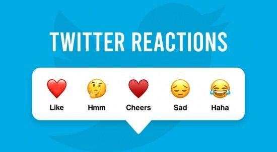 Twitter, Reactions'u  Türkiye'de test ediyor