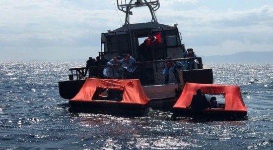 Yunan Sahil Güvenliği 184 göçmeni Türk karasularına itti