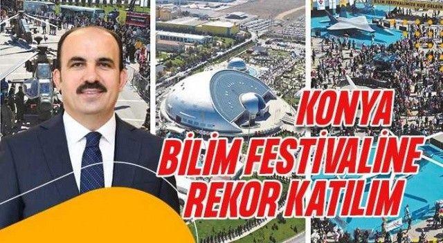 8. Konya Bilim Festivali'ne 250.000 ziyaretçi