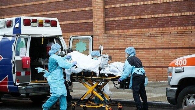 ABD'de koronavirüsten 2 bin 416 kişi daha hayatını kaybetti