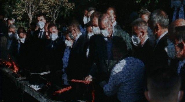Adana kebabın ateşini Cumhurbaşkanı Erdoğan yaktı