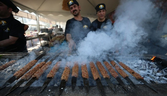 Adana Lezzet Festivali'nde 3 günde 35 ton et tüketildi