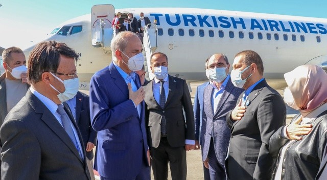 AK Parti Genel Başkanvekili Numan Kurtulmuş Van'da