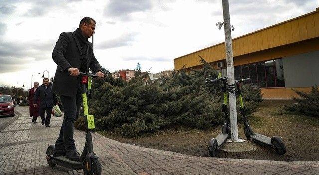 Ankara'da elektrikli scooterlar için yeni karar
