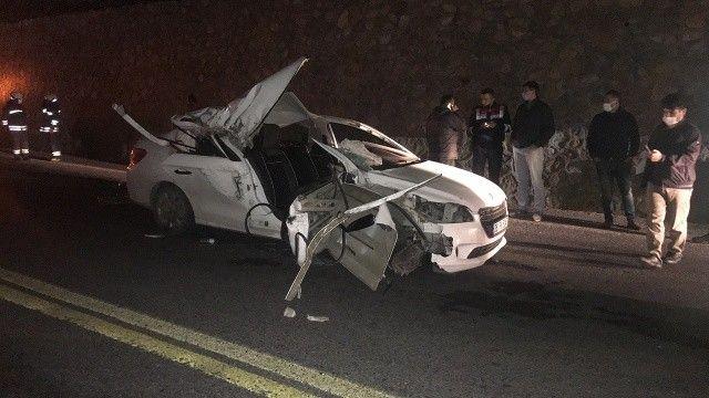 Antalya-Akşehir kara yolunda kaza: 1 ölü
