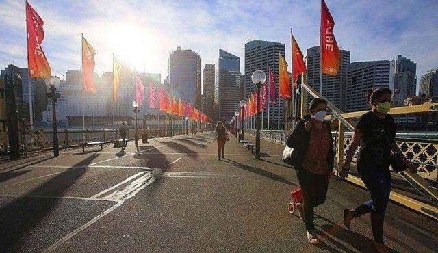 Avustralya'da endişe veren rekor: Bir günde 2744 yeni vaka