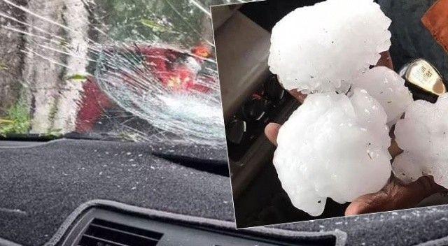 Avustralya'yı dolu fırtınası vurdu
