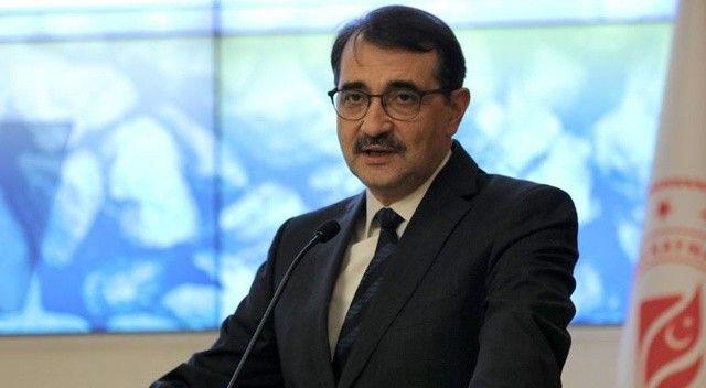 Bakan Dönmez'den doğalgaz açıklaması