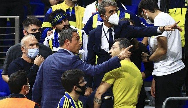 Barcelona mağlubiyeti sonrası Ali Koç ile taraftar arasında gerginlik