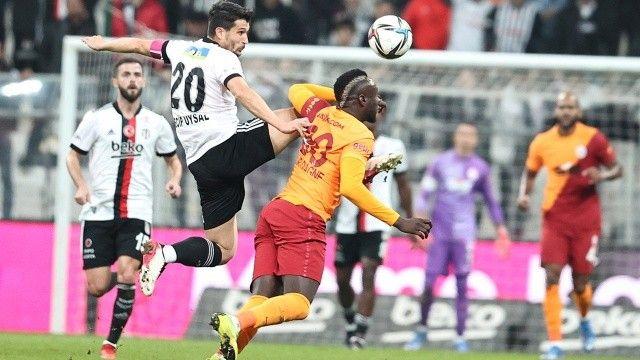 Beşiktaş, Galatasaray'ı 2-1 yendi