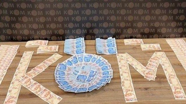 Çantasında 130 bin TL sahte para ile yolcu otobüsünde yakalandı!