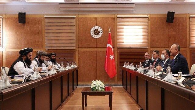 Çavuşoğlu, Taliban heyeti ile yaptığı görüşmenin detaylarını açıkladı