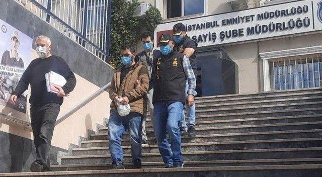 Çekmeköy'de boncuklu tabancayla market soygunu