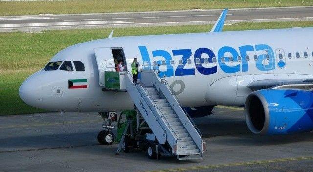 Cezire Havayollarına ait uçak, gelen bomba ihbarı üzerine Trabzon'a indirildi!