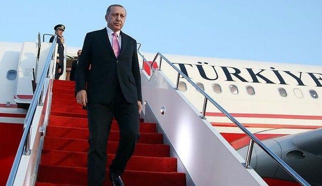 Cumhurbaşkanı Erdoğan Afrika yolcusu