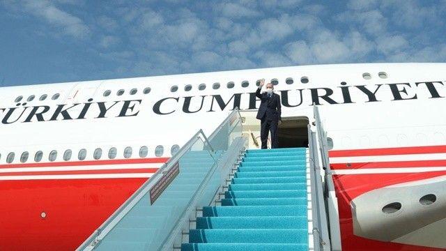 Cumhurbaşkanı Erdoğan Angola'ya ulaştı