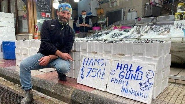 Denizde balık bolluğu: Hasmsi fiyatları dibi gördü