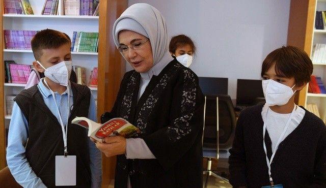 Emine Erdoğan: Kütüphane okulların kalbi
