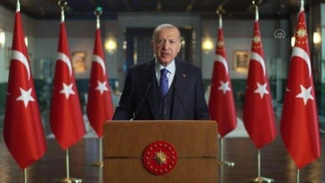 Erdoğan'dan iklim mesajı: Tüm ülkelerin elini taşın altına koyması şart