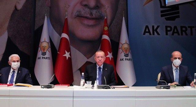 Erdoğan MKYK'da konuştu: Taliban'la kapıları kapatmadık