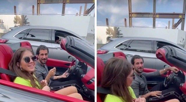 Esad'in kuzeni ABD'de lüks araçla gezerken görüntülendi