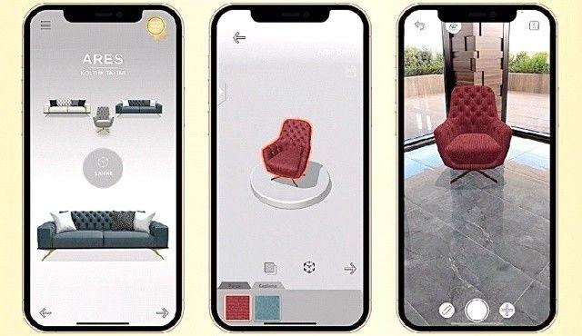 Ev kadınları mobilya seçimini VR'dan yapacak