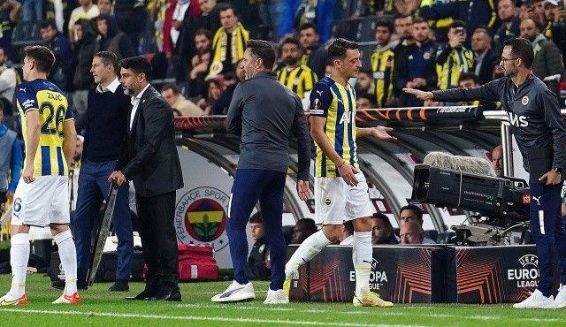 Fenerbahçe'de ipler gerildi! Mesut-Pereira krizi kapıda