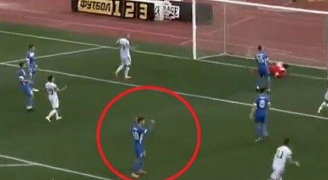 Futbol tarihinde bir ilk! Rakibin golüne sevinen futbolcuya soruşturma