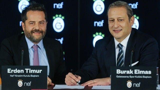 Galatasaray'dan dev anlaşma: NEF ile anlaşma imzalandı