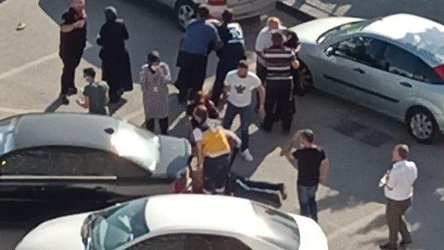 GATA'da dehşet! Kadın sürücüye kızdı, biri çocuk iki kişiyi ezdi