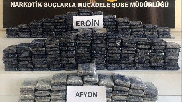 Gaziantep'te 87 kilo eroin ele geçirildi