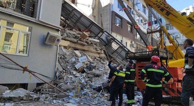 Gürcistan'da bina çöktü: 7 ölü