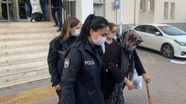 Hakkında 4 yıldan fazla hapis cezası olan 67 yaşındaki kadın yakalandı