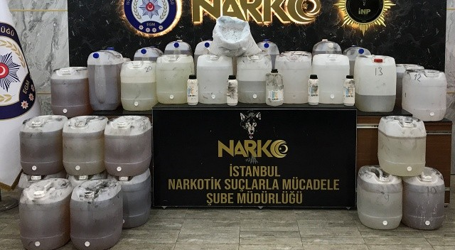İstanbul'da rekor miktarda metamfetamin ele geçirildi