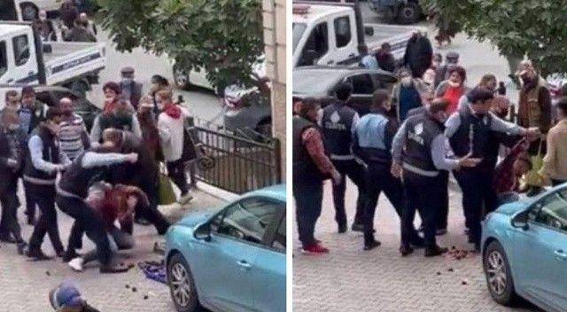 Kağıthane'de seyyar satıcıya şiddet uygulayan zabıta memuru açığa alındı