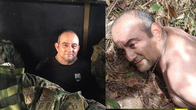 Kolombiya'da ünlü uyuşturucu karteli lideri 'Otoniel' yakalandı