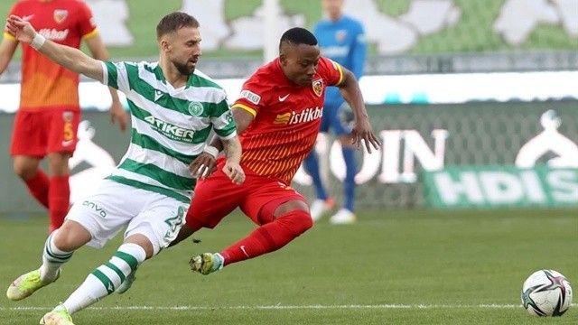 Konyaspor'un galibiyet hasreti son buldu